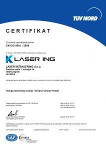 Laser Ing ISO 9001