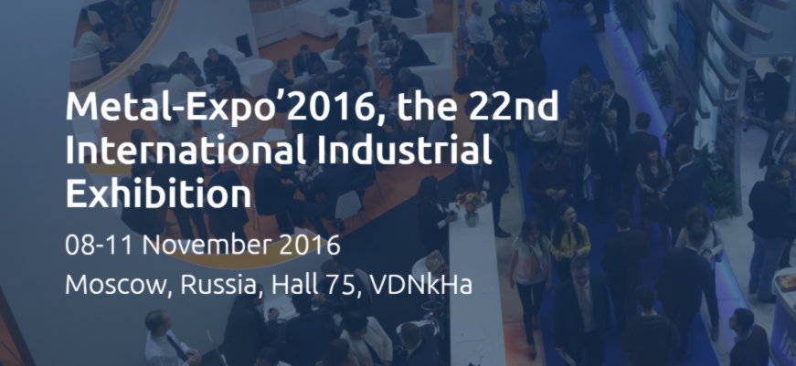 Metal Expo 2016 Moskva