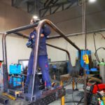 Izrada metalnih konstrukcija i sklopova - Primjer 6